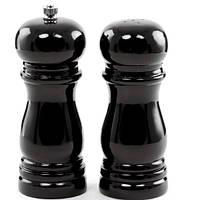 Подрібнювач+солонка Maestro Black чорний дерево (1616Black MR)