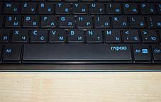Комплект беспроводной Rapoo 8000 Black/Blue, фото 3