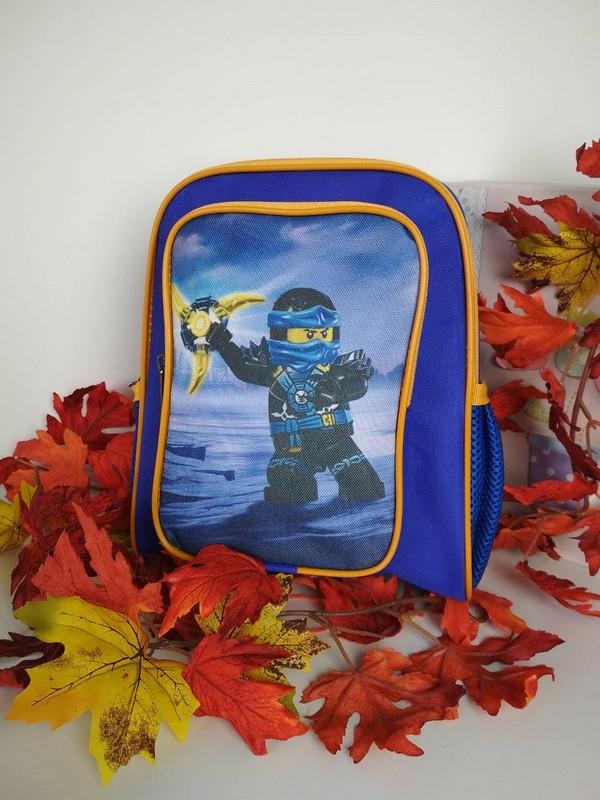 Детский рюкзак с принтом Ниндзяго 30*30*12 см