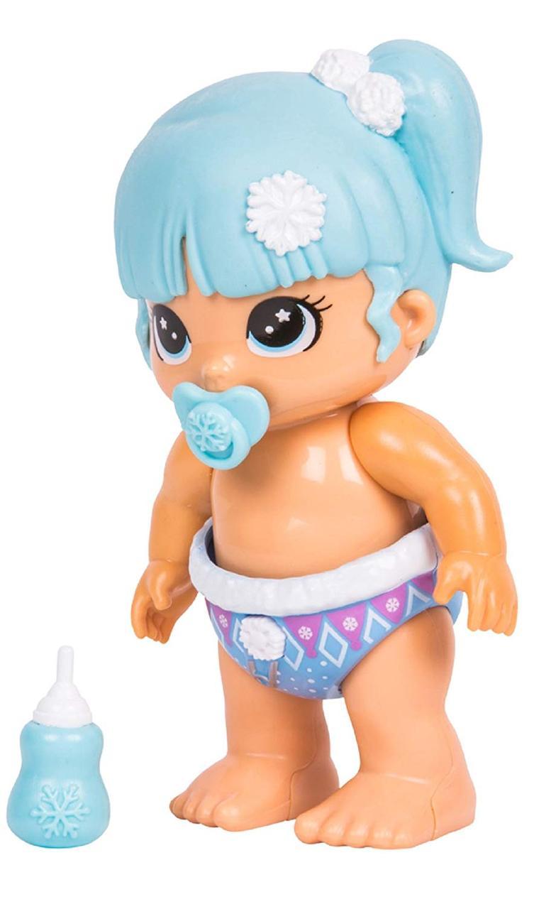 Интерактивные игрушки Bizzy Bubs Snowbeam Пупсики малышки Little Live Pets Биззи Бабс Сновбим кукла