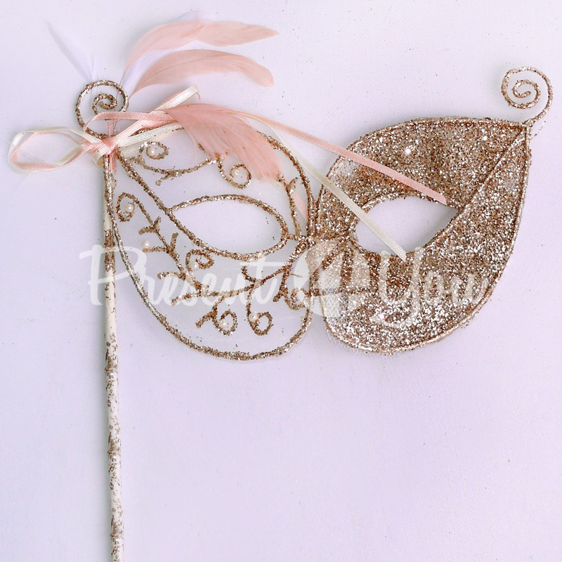 Декор Карнавальная маска, h-38,5х22 см.
