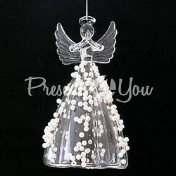 Декор Белый Ангел, h-12 см.