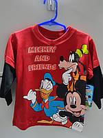 Реглан Детский Disney Трикотажный на Мальчика Оригинал Америка Рост 90 см