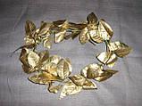 Лавровый венок цвет золотой, фото 5