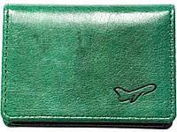 Высококачественная визитница магнит Air зеленая винная Классический дизайн Доступная цена Код: КГ6449