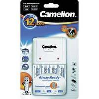 Зарядное устройство CAMELION BC-1010 + 2АА 2100mAh / 2ААА 800 mAh для аккумуляторов АА, ААА