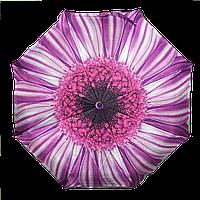 Автоматический женский зонт AVK 115-6 фиолетовый антиветер