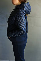 Женский зимний спортивный костюм комбинированный, фото 3