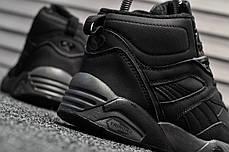 Женские зимние ботинки Puma Trinomic Black топ реплика, фото 2