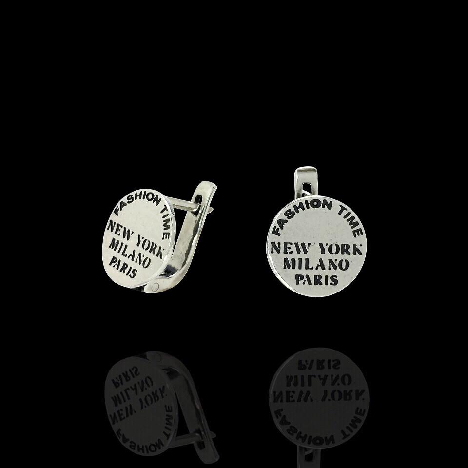 Серебряные серьги Fashion Time