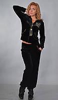 Женский велюровый спортивный костюм RNY, разм 42-48, 4 цвета., фото 1