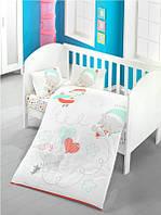 Комплект в детскую кроватку Victoria «Baby Sky»