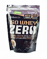 Протеин BioTech Iso Whey Zero 500 г шоколад