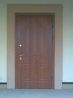 Дверь металлическая МДФ (для улицы)