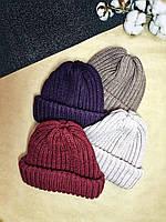 Женская шапка вязаная Tak Ori,много цветов