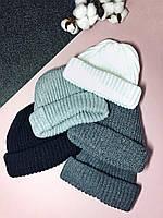 Женская шапка вязаная Roxy, много цветов