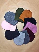 Женская шапка вязаная Ribbed много цветов