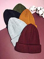 Женская шапка вязаная Urban, много цветов