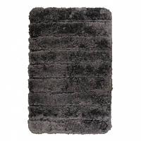 Банный коврик антискользящий хлопковый серый45*70 ( 10106 )