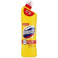 Средство для чистки унитаза Domestos лимонная свежесть 1л