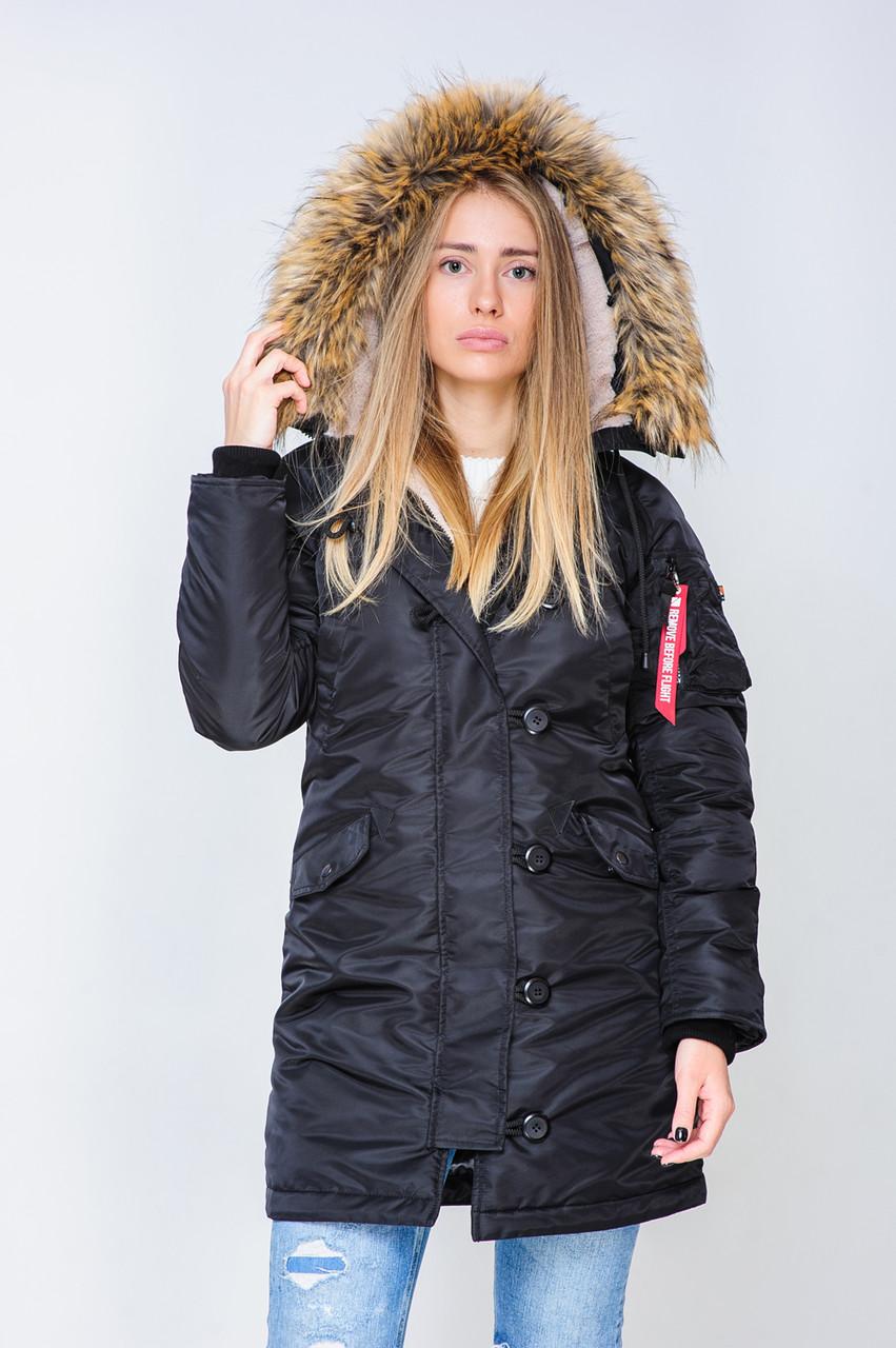 1605b6f8849 Женская зимняя куртка Аляска Olymp