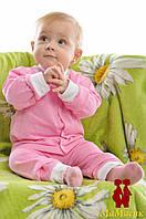 Кофта на кнопочках для малыша (футер)
