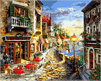 Раскраска по номерам Приморский бульвар ХудБоем Никки (VP300) 40х50 см