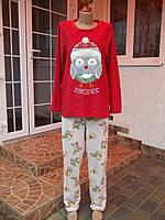 (46 р) Флисовый комбинезон костюм пижама кигуруми кігурумі