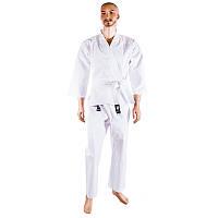 Кимоно для карате белое Сombat (хлопок, рост 110-190 см, плотность 250г на м2)