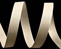 Репсовая лента  слоновая кость 7 мм