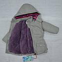 Куртка зимняя Winter Time для девочки серая (QuadriFoglio, Польша), фото 7