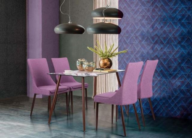 Комплект Умберто + Verum лиловый, орех