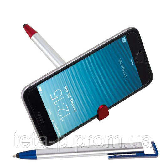 Ручка шариковая NEVADA со стилусом и клипом для смартфона
