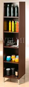 Витрина для парикмахерской VM602 ДСП Swisspan Орех темный (Velmi TM)