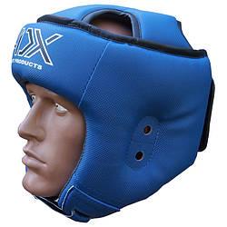 Шлем ADX турнирный синий  для , таэквондо ITF (материал Карбон)