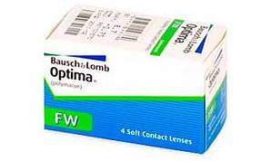 "Линза контактная мягкая белая ""Optima"", Bausch and Lomb USA"