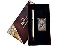 Подарочный набор 2 в 1 Зажигалка и ручка