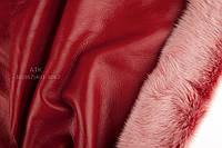 Мех дубленочный Тоскана красная