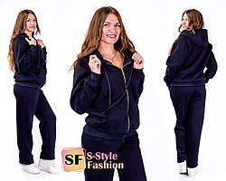 Тёплый спортивный костюм 50-56 р 2 цвета