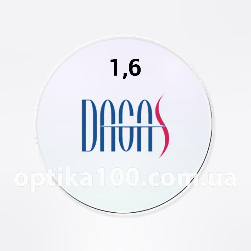 Утонченная корейская линза для очков Dagas 1,6 с покрытием Super-Hydrophobic