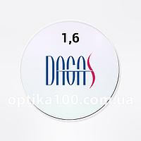 Витончена корейська лінза для окулярів Dagas 1,6 з покриттям Super-Hydrophobic