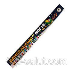 Бенгальские огни,длина: 40 см,в упаковке: 5 шт,время горения: 90 секунд
