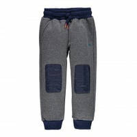Утепленные Спортивные Штаны Для Мальчиков С Модными Синими Заплатками На  Коленях Brums Италия ffc55fb3c80d1