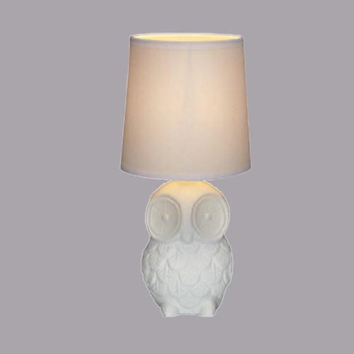 Настольная лампа Markslojd Helge 105310 1х40Вт E14 текстиль/керамика