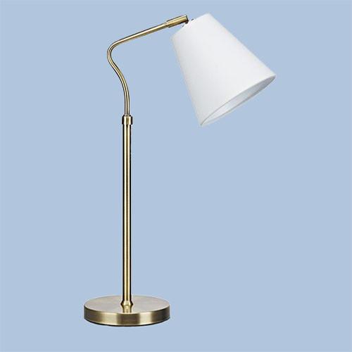 Настольная лампа Markslojd Tindra 106869 1х40Вт E14 белый/металл