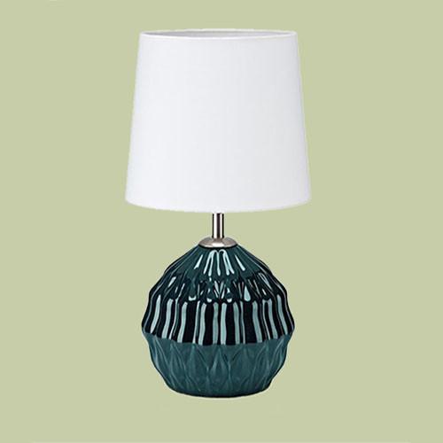Настольная лампа Markslojd Lora 106882 1х40Вт E14 текстиль/керамика