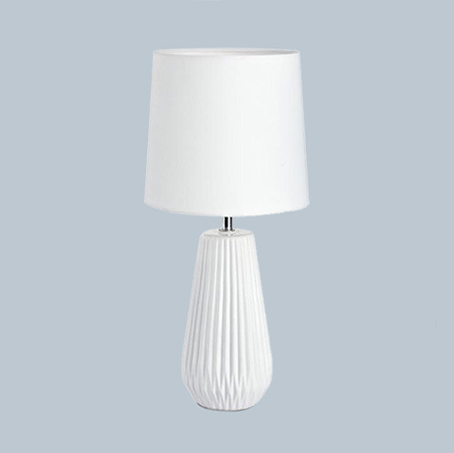 Настольная лампа Markslojd Nicci 106623 1х40Вт E14 текстиль/керамика