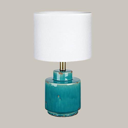 Настольная лампа Markslojd Cous 106606 1х60Вт E27 белый/керамика