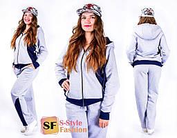 Тёплый спортивный костюм  Анетта 50-56 р 3 цвета