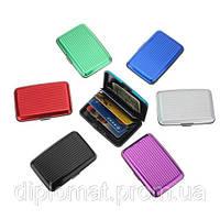 Кошелек-кредитница алюминиевый Security credit card wallet, фото 1